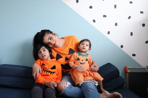 kids playroom, playroom Inso, kids halloween decor, unisex playroom